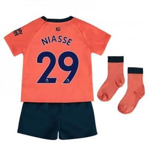 Everton Away Baby Kit 2019-20 with Niasse 29 printing