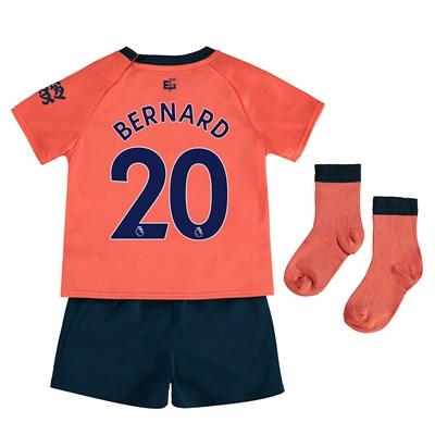 Everton Away Baby Kit 2019-20 with Bernard 20 printing