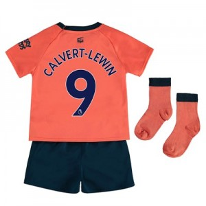 Everton Away Baby Kit 2019-20 with Calvert-Lewin 9 printing