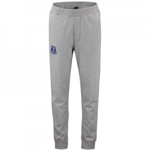 Everton Core Crest Joggers - Grey Marl - Mens