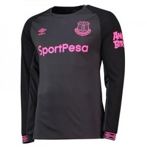 Everton Away Shirt 2018-19 - Long Sleeve