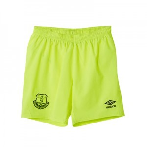 Everton Goalkeeper Away Shorts 2018-19 - Kids