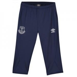 Everton Training 3/4 Knit Pants - Dark Blue - Kids