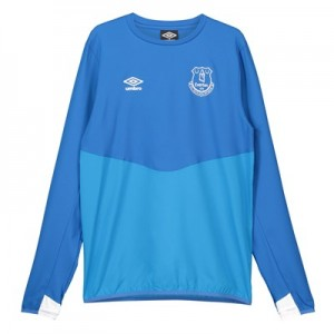 Everton Training Drill Top - Royal Blue - Kids