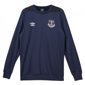 Everton Training Sweatshirt - Dark Blue - Kids