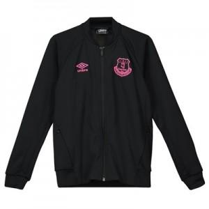 Everton Walkout Jacket - Black - Kids
