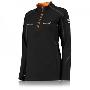 McLaren Official 2018 Team 1/4 Zip Sweatshirt - Womens