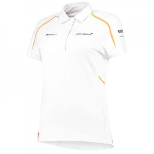 McLaren Official 2018 Team Polo Shirt - Womens