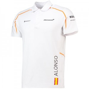 McLaren Official 2018 Fernando Alonso Polo Shirt