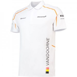 McLaren Official 2018 Stoffel Vandoorne Polo Shirt