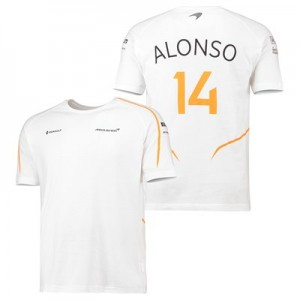 McLaren Official 2018 Fernando Alonso T-Shirt