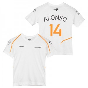 McLaren Official 2018 Fernando Alonso T-Shirt - Kids