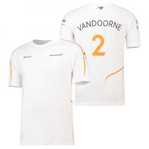 McLaren Official 2018 Stoffel Vandoorne T-Shirt