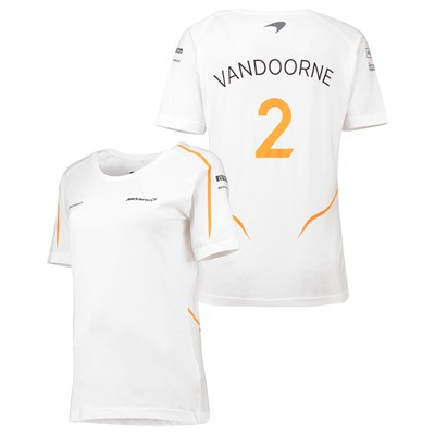 McLaren Official 2018 Stoffel Vandoorne T-Shirt - Womens