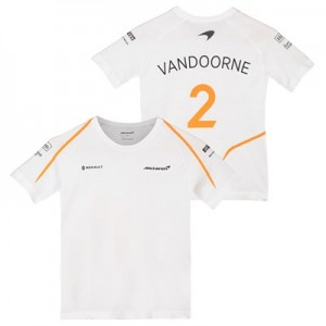 McLaren Official 2018 Stoffel Vandoorne T-Shirt - Kids