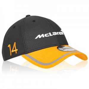 McLaren Official 2018 Fernando Alonso Cap - New Era 9FORTY