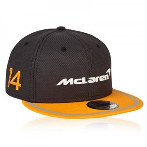 McLaren Official 2018 Fernando Alonso Cap New Era 9FIFTY