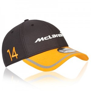 McLaren Official 2018 Fernando Alonso Cap - New Era 9FORTY - Kids
