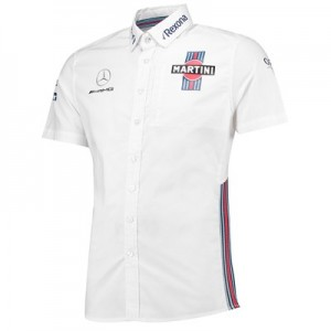 Williams Martini Racing 2018 Team Short Sleeve Shirt