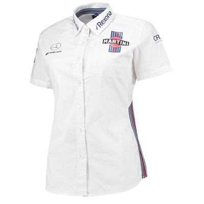 Williams Martini Racing 2018 Team Short Sleeve Shirt - Womens
