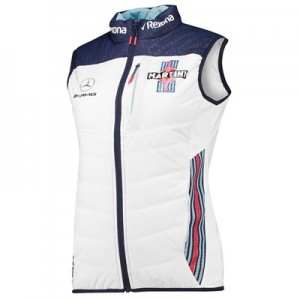 Williams Martini Racing 2018 Team Gilet - Womens