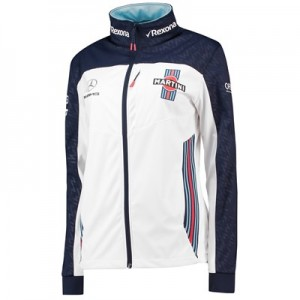 Williams Martini Racing 2018 Team Softshell Jacket - Womens