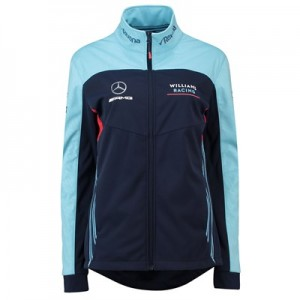 Williams Racing 2018 Alternate Team Softshell Jacket - Womens