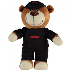Formula 1 8 Mascot with Overalls