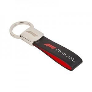 Formula 1 Leather Strap Keyring