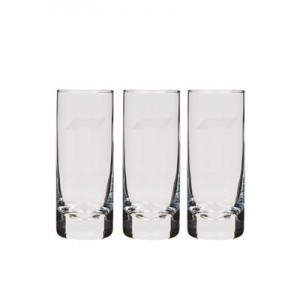 Formula 1 Shot Glass - 3 Pack
