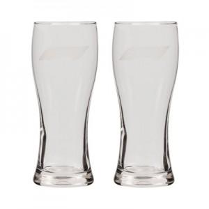 Formula 1 Pilsner Glass - 2 Pack
