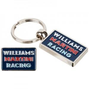 Williams Martini Racing Badge & Keyring Set