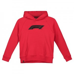 Formula 1 Essentials Logo Hoodie - Red - Kids