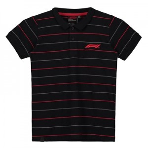 Formula 1 Essentials Pinstripe Pique Polo - Kids