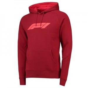 Formula 1 Essentials Logo Hoodie - Red