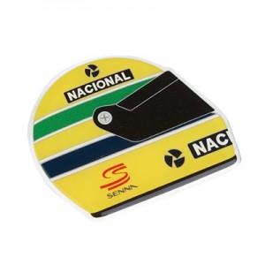Ayrton Senna Sticker Senna Helmet 1990 3D EPOXY
