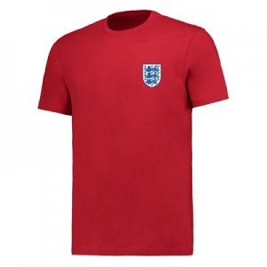 England Small Crest T-Shirt - G Red - Mens