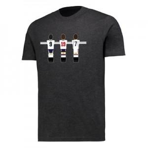 England Legends Table Football T-Shirt - Black Marl - Mens