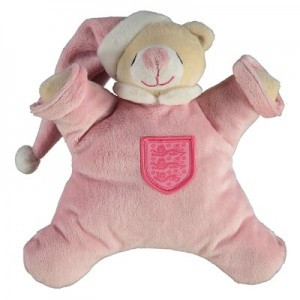 England Blanket Bear - Pink