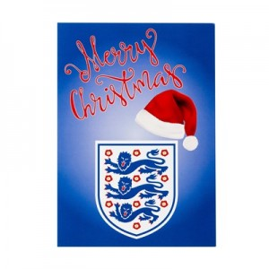 England Christmas Card