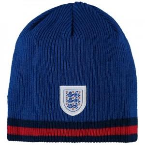 England Three Stripes Beanie - Blue - Unisex