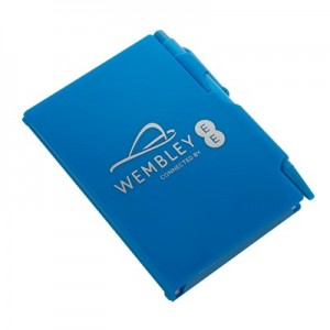 Wembley Zing Notepad - Ocean