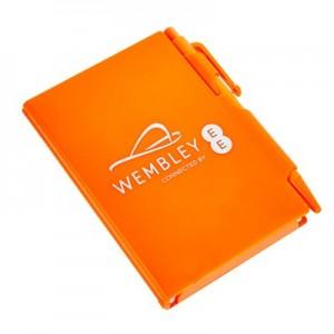 Wembley Zing Notepad - Mango