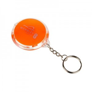 Wembley Keyring Flashlight - Orange