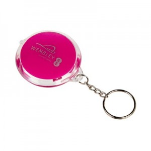 Wembley Keyring Flashlight - Purple