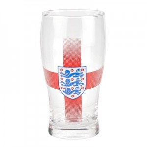 England Tulip Pint Glass