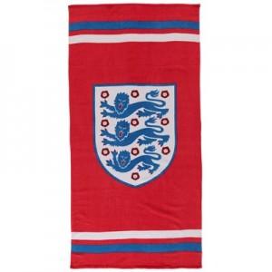 England Slogan Crest Towel