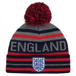England Striped Wordmark Knit - Navy - Junior
