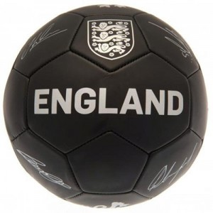 England Phantom Signature Ball - Black - Size 5