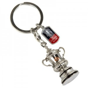 England The FA Cup Trophy Replica 2D Keyring